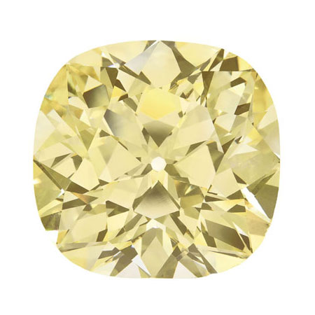 Loose Yellow Diamond