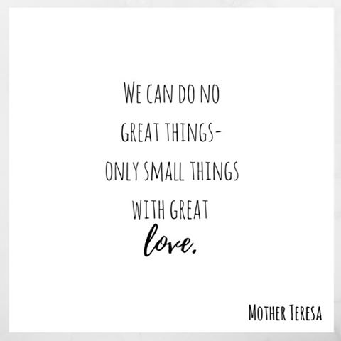 Mother Teresa Show great love today through simple actshellip
