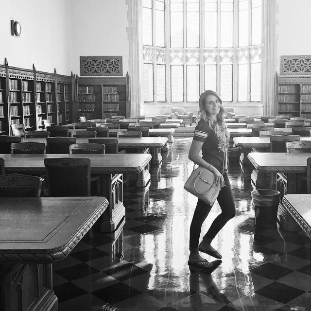 The reading room at OUs Bizzell Memorial library is hellip