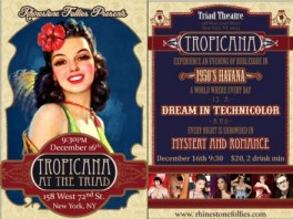 Tropicana at the Triad, presented by The Rhinestone Follies