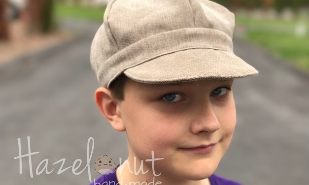 DIY Newsie Hat from a Free Pattern