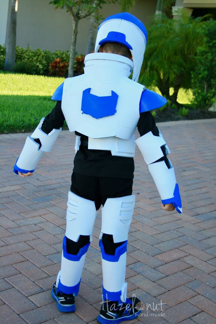 Voltron Paladin Costume with Hazelnut Handmade