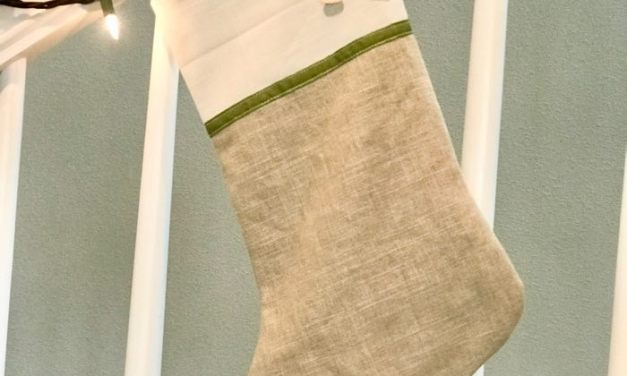 Modern Neutral Christmas Stockings