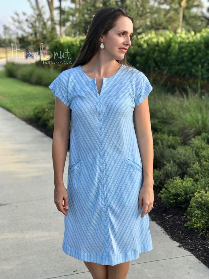 Leralynn Dress by Blank Slate Patterns with Hazelnut Handmade