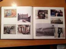 Hazel Reeves' book for Gresley maquette project