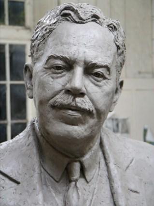 Gresley statue head