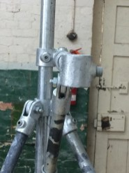 Putting the armature joints together - quite animal-like!