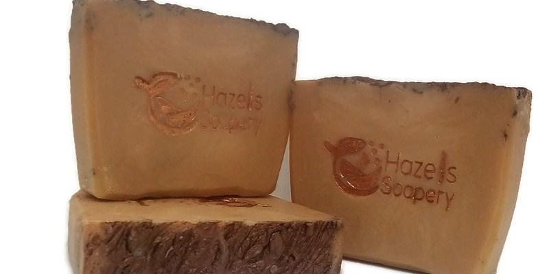 Hazels Soapery Pumpkin Creme Brulee Soap