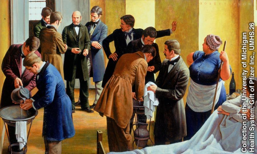 Ignaz Semmelweis - lavarsi le mani