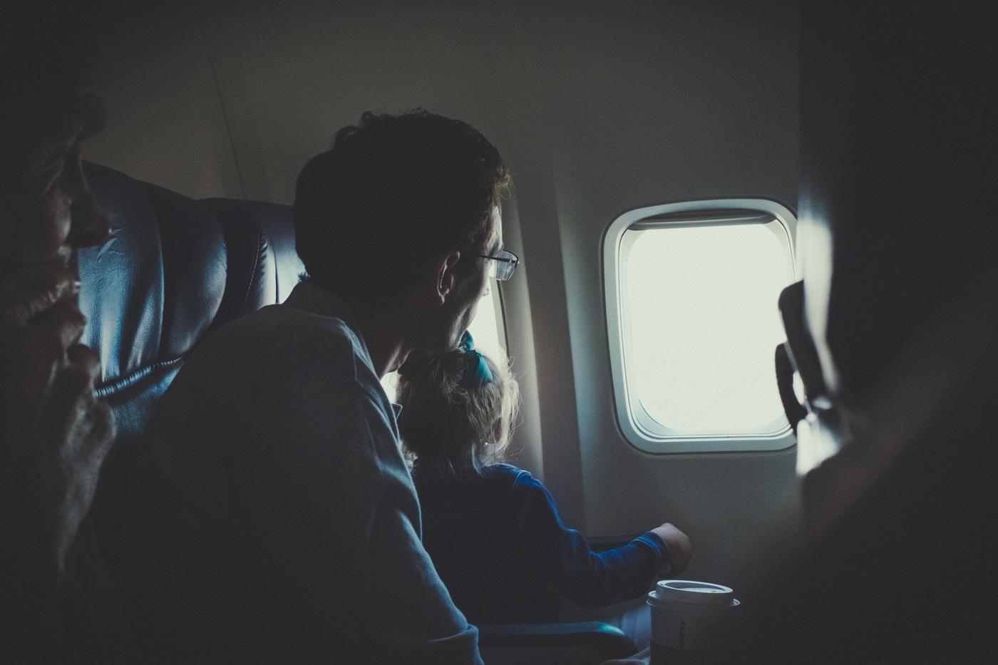 vacanze con i bambini - oblò aereo