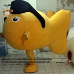 [Satılık] Balık Maskotu
