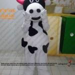 İnek maskot kostümü
