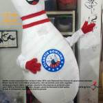 Lobut Maskot Kostümü / Atlantis bowling