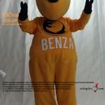 Gergedan Maskot Kostümü / BENZA