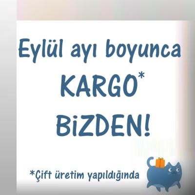 Eylül ayı boyunca çift üretim yapılması halinde Türkiye'nin her yerine kargo bedava!