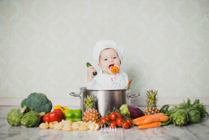 Cómo hacer fotos a bebés