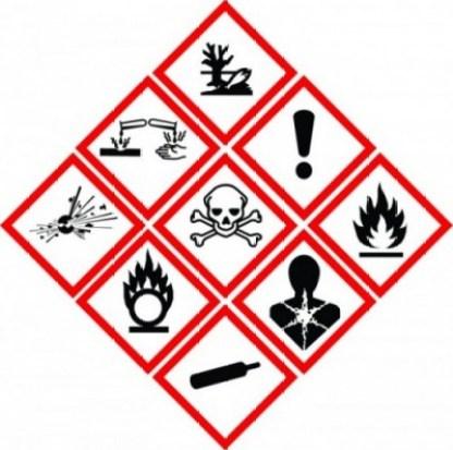 Resultado de imagem para pictogramas de risco