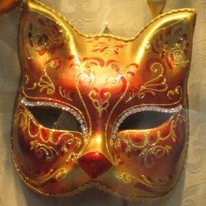 Farsang - maszk - macskanő
