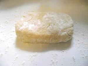 Szilvasgombóc tészta