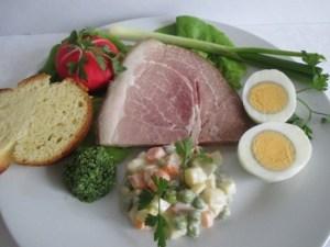 Húsvéti vacsora tányér - 2