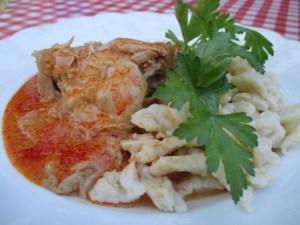 Ételek csirkéből: paprikás csirke
