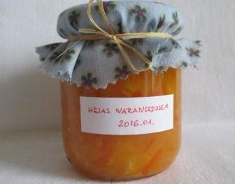 Héjas narancslekvár