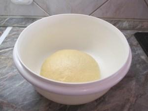 Összedolgozott tészta