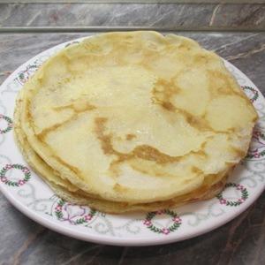 Palacsinta tészta, palacsinta recept