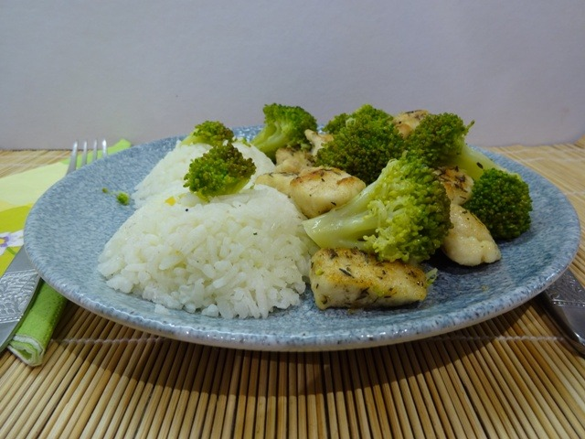 Brokkolis csirkemell