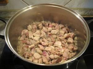 Hús párolása 1