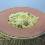 Carbonara spagetti egyszerűen