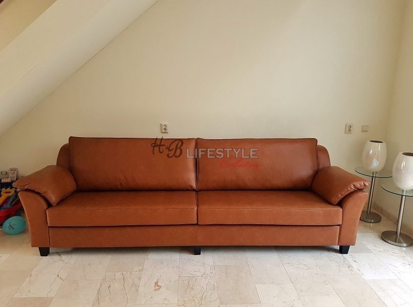 Cognac bank hb lifestyle collection for Bank petrol kleur