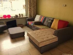 eigen bank samenstellen patchwork kleurrijke lounge