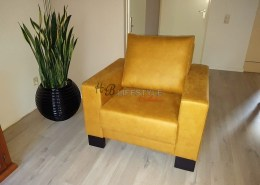 Aparte fauteuils Gele 1 zits fauteuil