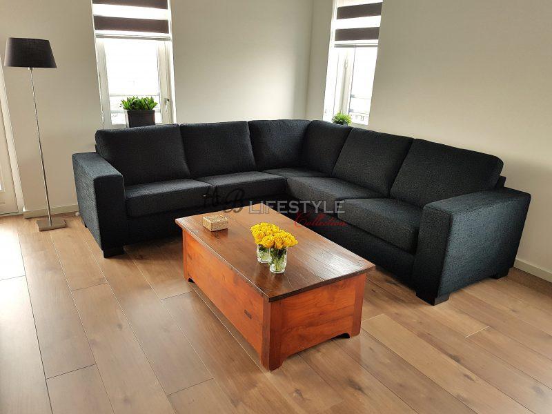 Loungebank Stof Zwart.Bank Of Een Hoekbank Hb Lifestyle Collection
