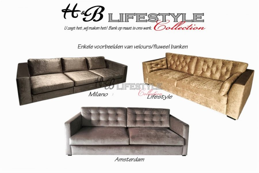 Velours stof archieven hb lifestyle collection for Velours bank