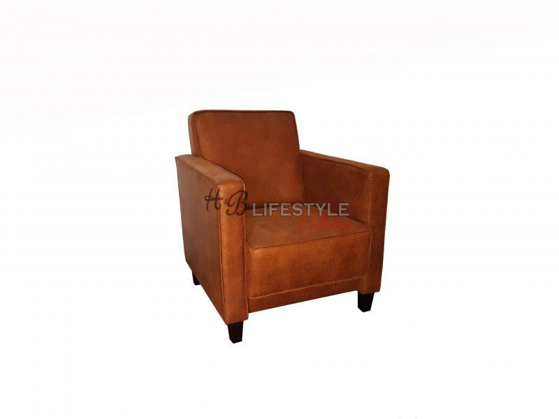 Fauteuil Cognac Kleur.Bora Fauteuil Cognac Kleur Hb Lifestyle Collection