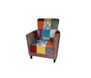 Patchwork fauteuil design