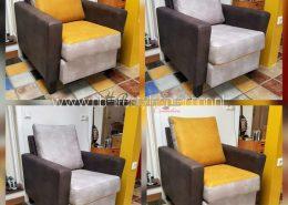 Kleurrijke fauteuils