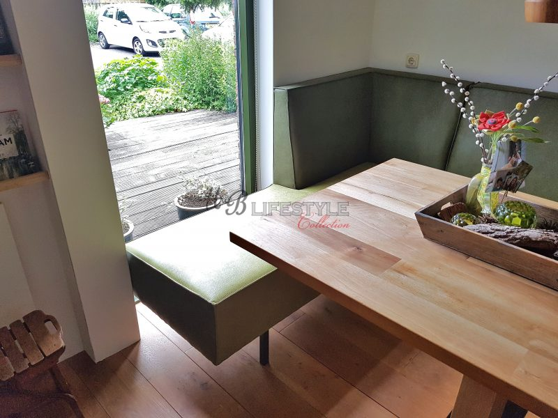 Dinerbank op maat hb lifestyle collection for Eettafel op maat laten maken