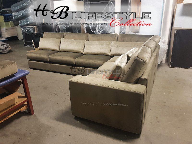 Welp Velours bank een pareltje voor uw interieur - HB Lifestyle Collection XP-64