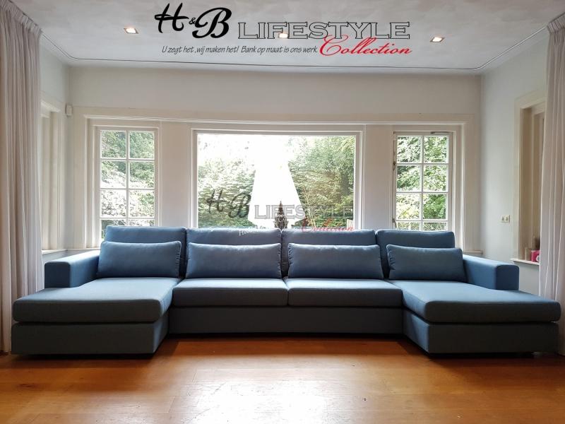 Hoekbank Met Loungedeel.Bioscoopbank U Vorm Met 2x Loungedeel Model Milano Hb