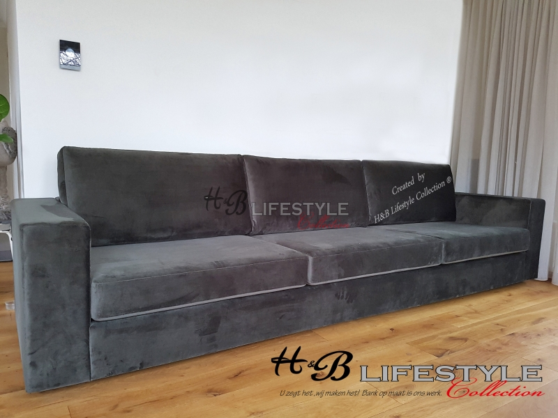Groot Leren Bankstel.Extra Grote Bank Hb Lifestyle Collection