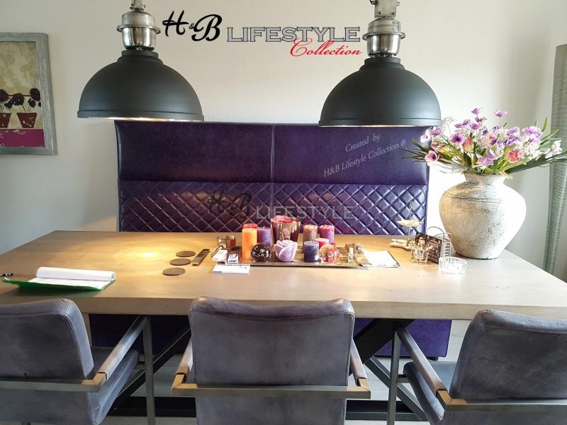 Treinbank, voor een gezellige eetkamer - HB Lifestyle Collection