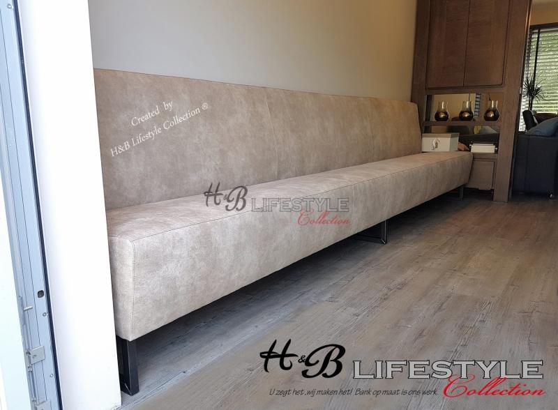 Eettafel Bank Wit Leer.Eetbank Op Maat Hb Lifestyle Collection
