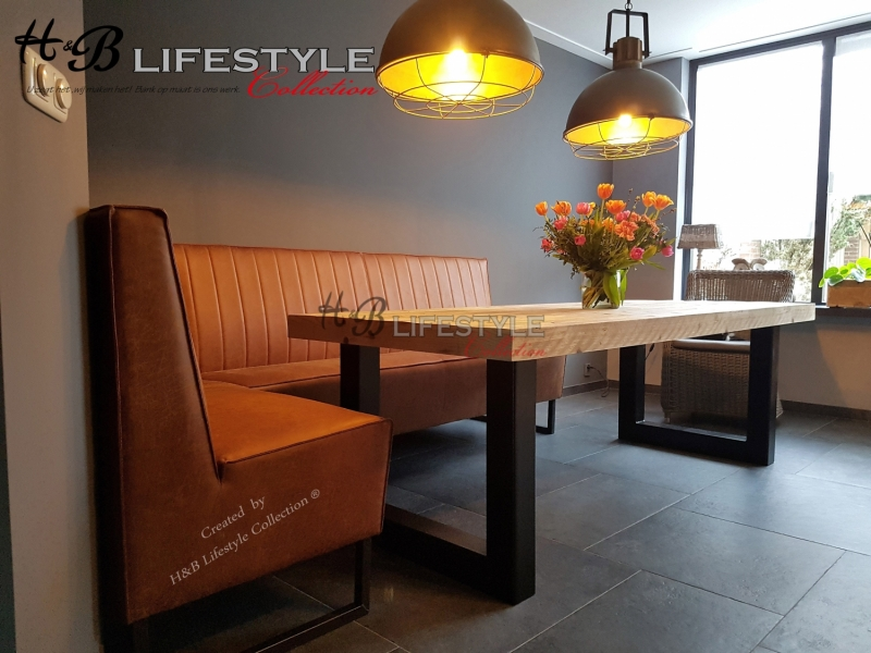 Verwonderend Eettafel hoekbank - HB Lifestyle Collection GM-39