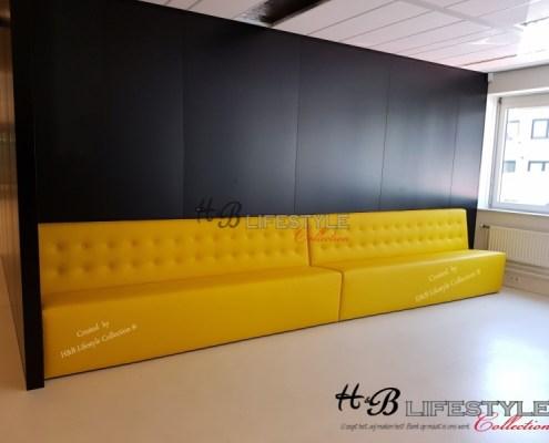 maatwerk horeca banken project