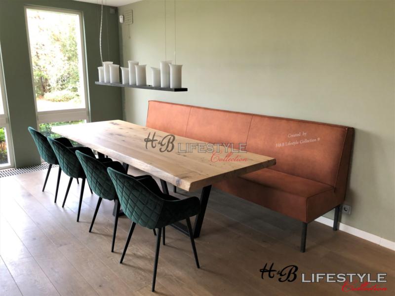 Nieuw Muurbank op maat laten maken - HB Lifestyle Collection FN-86