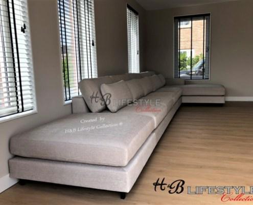 lounge bank op maat losse element
