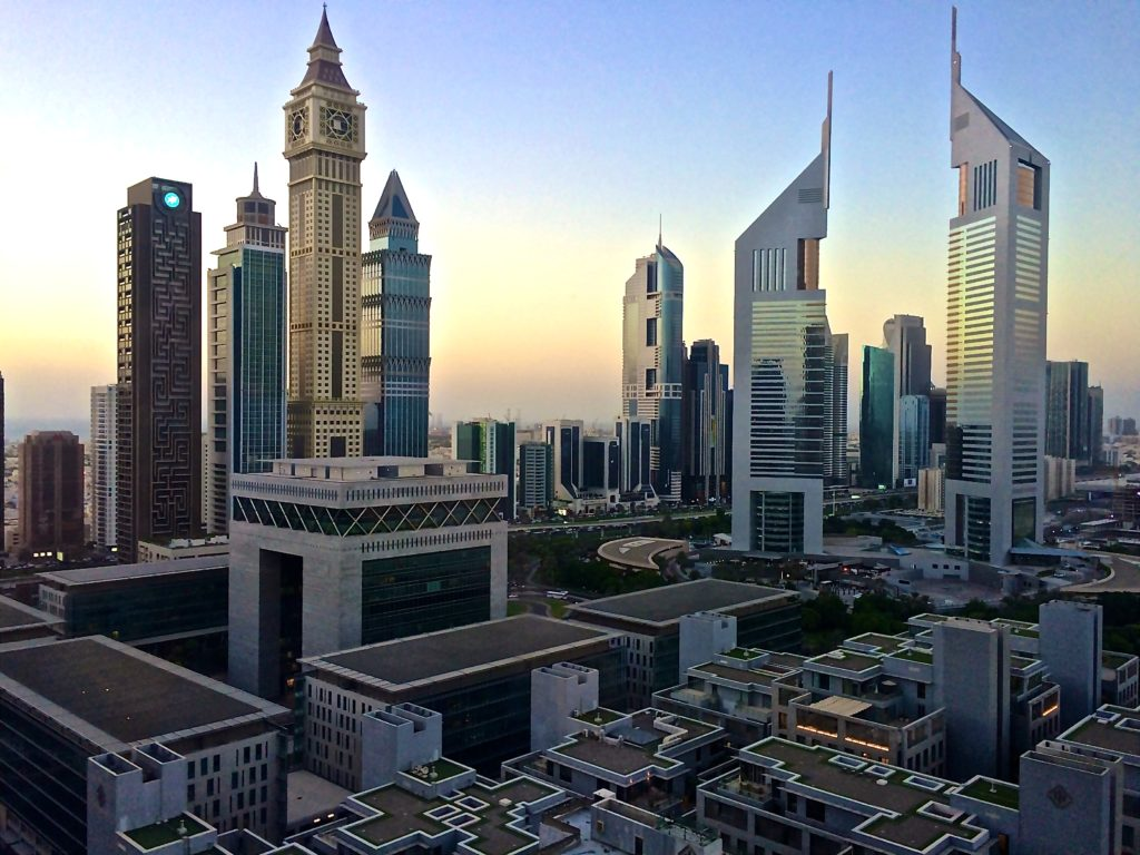 Dubai International Business centre - photo credit Jackardsiffant